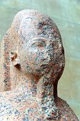 image of atonement  - Egyptian statue in the Pergamon Museum (German: Pergamonmuseum) is situated on the Museum Island in Berlin, Germany ** Note: Slight graininess, best at smaller sizes - JPG