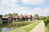 stock photo of hever  - Hever castle in England and its surrounding - JPG