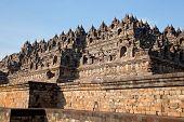 image of arjuna  - Architecture Borobudur Temple Stupa Ruin in Yogyakarta Indonesia - JPG