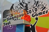 Minister Vivian Balakrishnan Giving A Speech