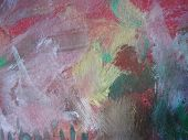 Texture, background and Colorful Image of an Abstract Painting