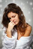 image of nervous breakdown  - Winter depression - JPG