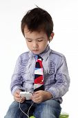 Kid With Smart Phone
