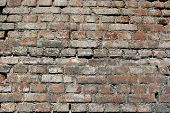Background of grunge brick wall texture