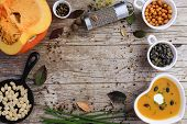 stock photo of seasonal  - Pumpkin soup  - JPG