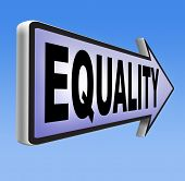 foto of equality  - equality and solidarity everyone has  equal rights and opportunities no discrimination  - JPG