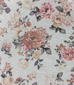 picture of knitwear  - new gray knitwear with vintage floral pattern - JPG