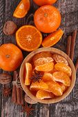 foto of clementine-orange  - orange and spices - JPG