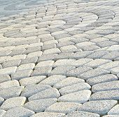 stock photo of paving  - Tiled pavement background - JPG