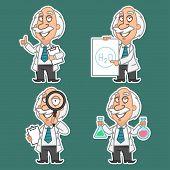 stock photo of physicist  - Illustration - JPG