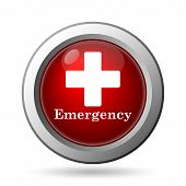 stock photo of accident emergency  - Emergency icon - JPG