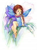 pic of fairies  - Cute girl - JPG