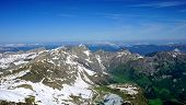 image of tit  - Landscape of Titlis snow mountains background Engelberg - JPG