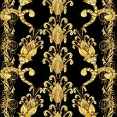 picture of damask  - Abstract beautiful background - JPG