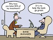 picture of horrifying  - A bank customer is horrified that half his funds have been taken and says - JPG