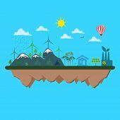 foto of sustainable development  - ecology - JPG