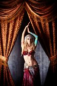 pic of belly-dance  - Beautiful traditional female dancer - JPG