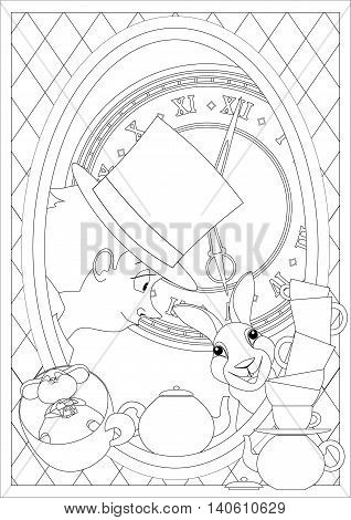 Coloring Page Alice