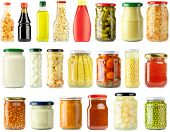 stock photo of pickled vegetables  - Preserved - JPG
