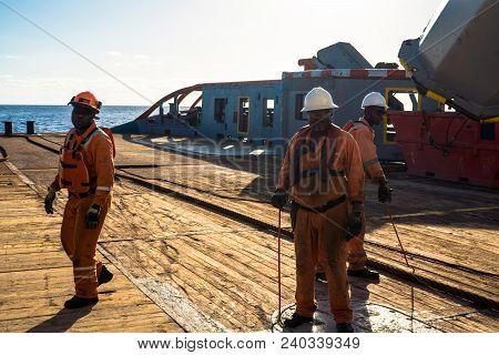 Anchorhandling Tug Supply Ahts Vessel