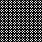 Seamless Monochrome Pattern With Polka Dots. Dotted Background. Endless Decorative Linear Round Text poster