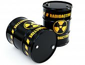 pic of radium  - radioactive barrels - JPG