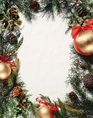 foto of christmas greeting  - christmas ornament  - JPG