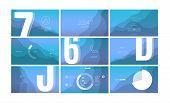 Modern Ui, Gui Screen Vector Horizontal Design For Business Presentation Slides Or Website Page. Gra poster