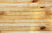 Wooden Beam Cut For Construction. Lumber For Wooden Structures And Frames poster