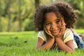 Постер, плакат: Афро американский ребенок