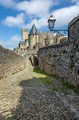 La Cit�, Carcassonne poster