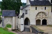 foto of anjou  - Fontevraud Abbey  - JPG