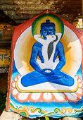 image of tantric  - Samantabhadra bodhisattva in yabyum   - JPG