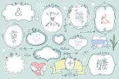 pic of christmas baby  - Colored Doodles labels - JPG