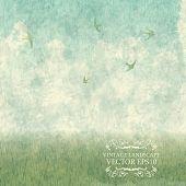 pic of meadows  - Vintage Design  - JPG