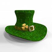 picture of leprechaun hat  - St Patrick - JPG