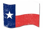 pic of texas star  - The flag of the USA state of TEXAS - JPG