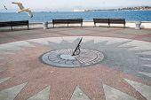 image of sundial  - the Sevastopol - JPG