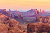 image of butts  - Mystic place in Monument Valley navajo tribal park - JPG