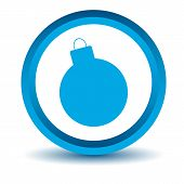 picture of bombshell  - Blue bomb icon on a white background - JPG