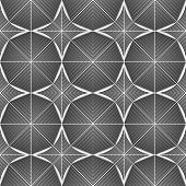 picture of octagon  - Design seamless monochrome octagon pattern - JPG