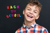 pic of schoolboys  - Back to school concept - JPG