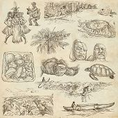 image of hula dancer  - Travel series HAWAII USA  - JPG