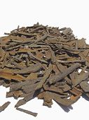 picture of cassia  - Cinnamomum cassia spice at market for sell - JPG