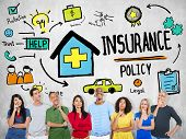 image of policy  - Diversity Casual People Insurance Policy Imagination Concept - JPG