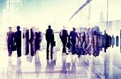 picture of commutator  - Business People Commuter City Life Busy Concept - JPG