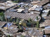 Slums in Addis Abeba