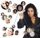 Social Network Of African American Businesswoman