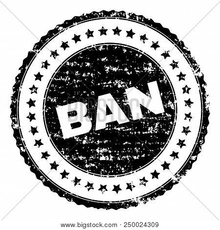 Ban Stamp Seal Watermark With