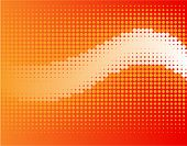 halftone wave-vector background